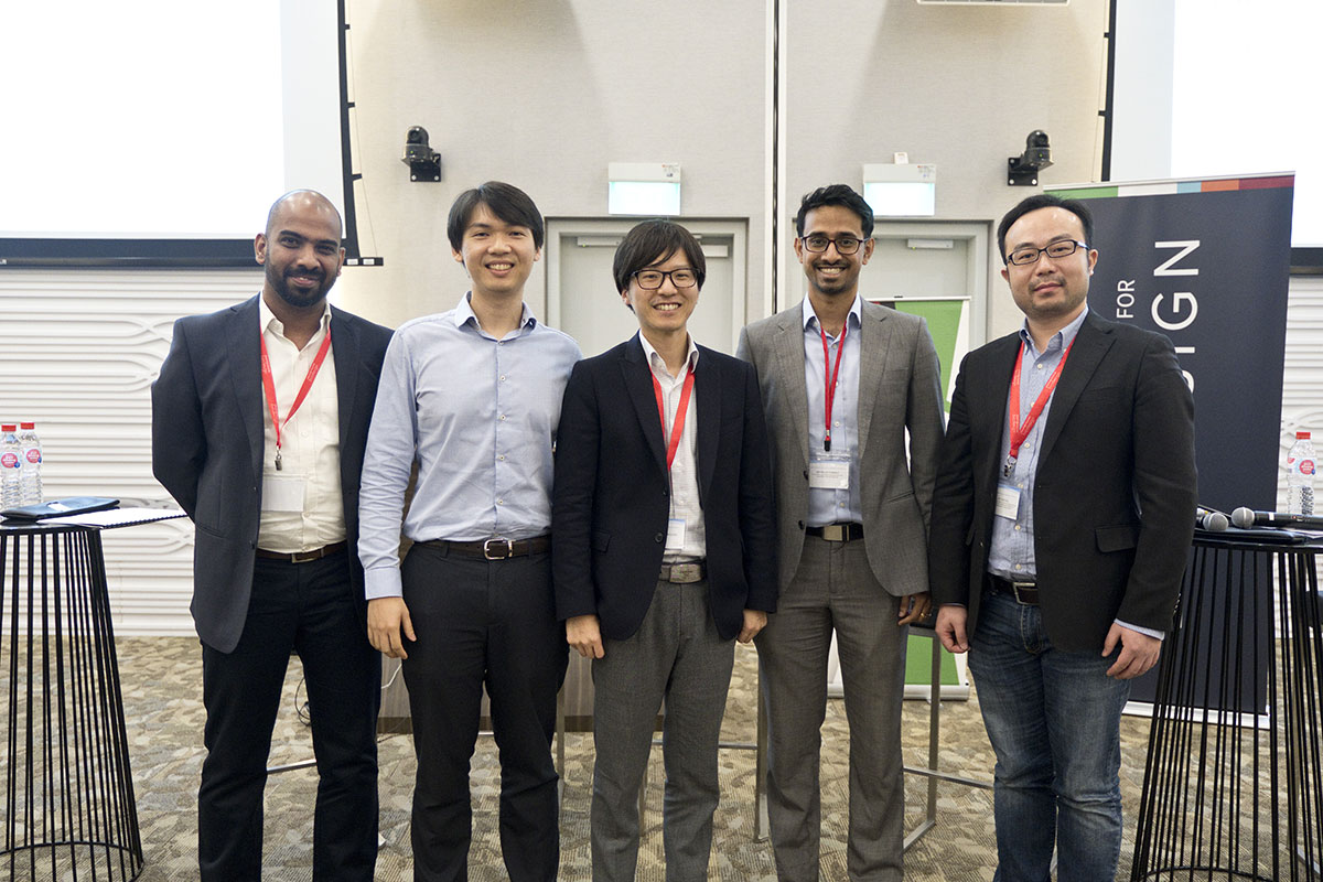Alumni of health technology innovation programs in India, Singapore, Japan, and China shared their experiences at the event.